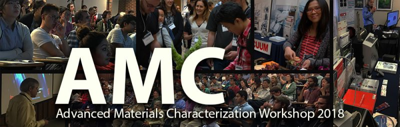 Advanced Materials Characterization Workshop Header
